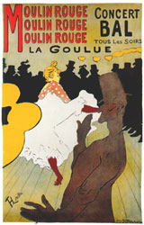 Lautrec Moulin Rouge La Goulue Poster 18911