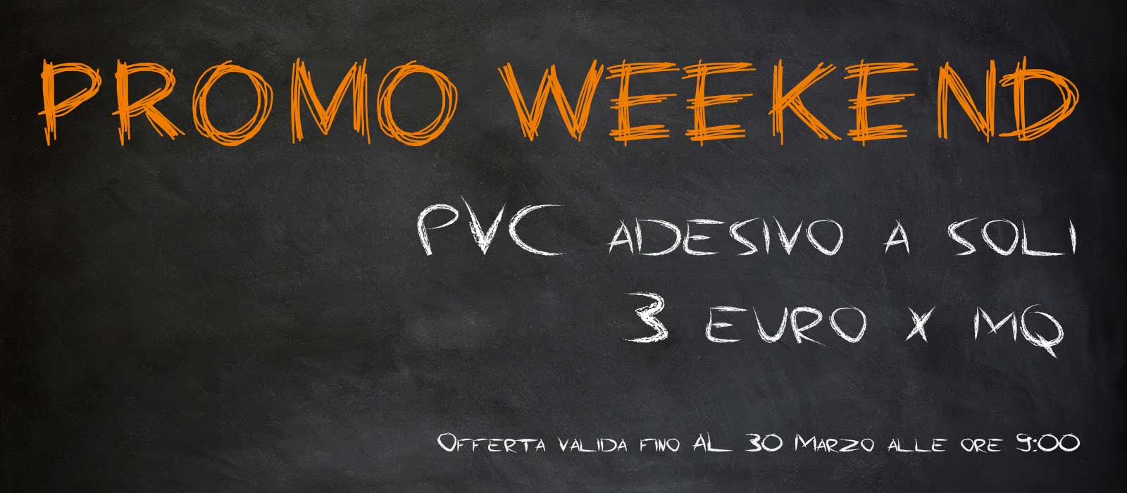 Lavagna Promoweekend 27 03