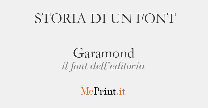 Storia di un font il garamond