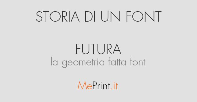 Il Font Futura