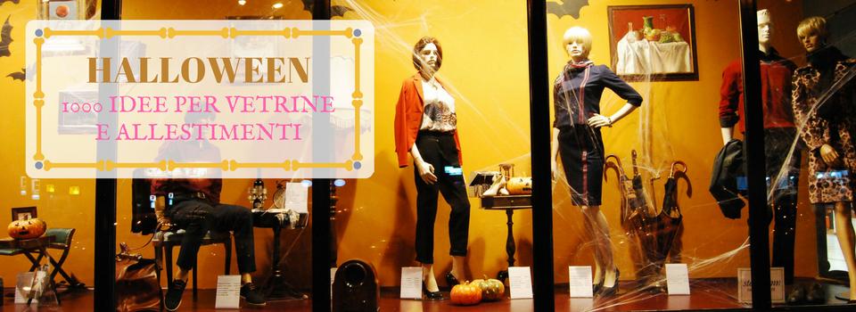 9 Idee Per Le Vetrine E Gli Allestimenti Di Halloween