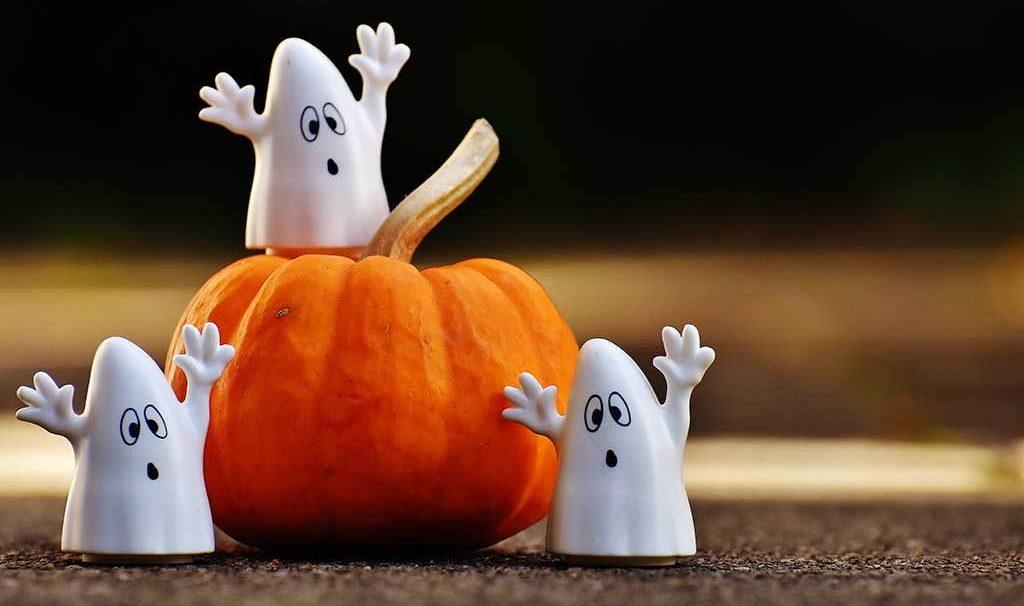 Halloween Allestimento Vetrine