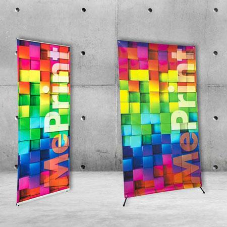 L-banner e X-banner Meprint